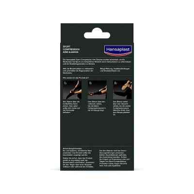 Hansaplast Sport Compression Arm-sleeves Größe m  bei apo-discounter.de bestellen