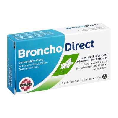Bronchodirect Schmelzfilm 16 mg  bei apo-discounter.de bestellen