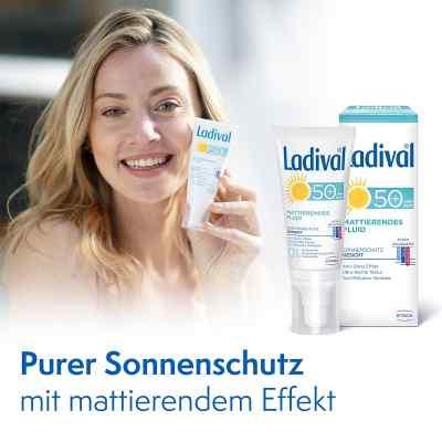 Ladival Sonnenschutz Gesicht Fluid mattierend LSF 50+  bei apo-discounter.de bestellen