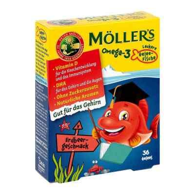Möller's Omega-3 Gelee Fisch Erdbeere Kautabletten  bei apo-discounter.de bestellen
