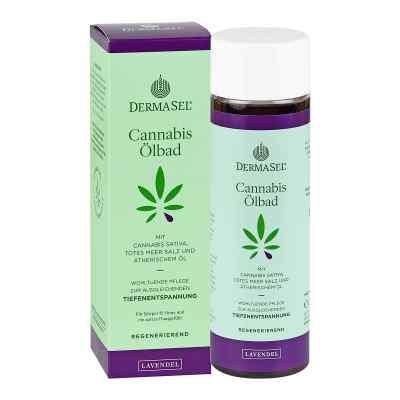 Dermasel Cannabis ölbad Limited Edition Lavendel  bei apo-discounter.de bestellen