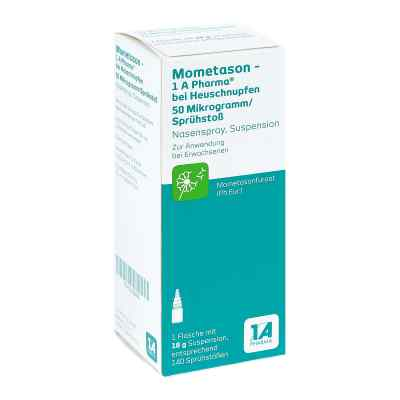 Mometason 1a Phar.b.heuschnupfen 50[my]g/spr.stoss  bei apo-discounter.de bestellen