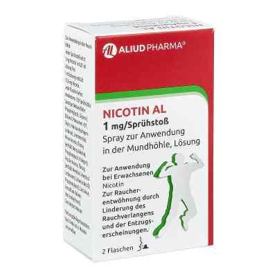 Nicotin Al 1 mg/Sprühstoss Spray zur, zum Anw.i.d.Mundhö.  bei apo-discounter.de bestellen