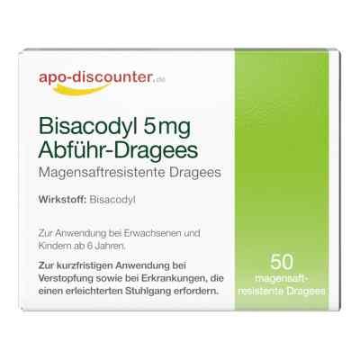 Bisacodyl 5mg Dragees von apo-discounter - bei Verstopfung  bei apo-discounter.de bestellen