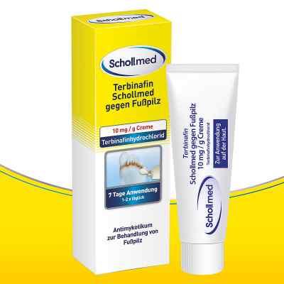 Terbinafin Schollmed gegen Fusspilz 10 mg/g Creme  bei apo-discounter.de bestellen