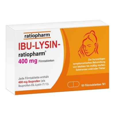 Ibu-lysin-ratiopharm 400 mg Filmtabletten  bei apo-discounter.de bestellen