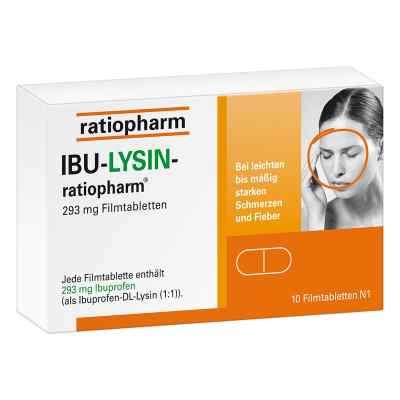 Ibu-lysin-ratiopharm 293 mg Filmtabletten  bei apo-discounter.de bestellen