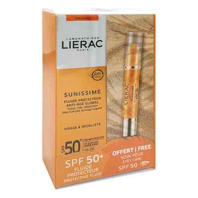 Lierac Sunissime Fluid Lsf 50 mit gratis Augenstift  bei apo-discounter.de bestellen