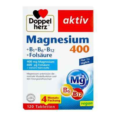 Doppelherz Magnesium 400 + B1 + B6 + B12 + Folsäure  bei apo-discounter.de bestellen