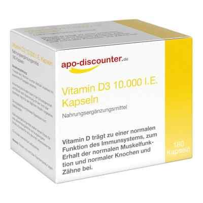Vitamin D3 Kapseln 10000 I.e. 250 [my]g von apo-discounter  bei apo-discounter.de bestellen