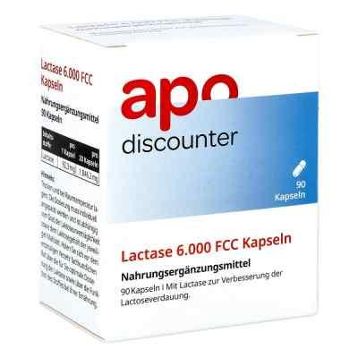 Lactase 6.000 Fcc Kapseln von apo-discounter  bei apo-discounter.de bestellen