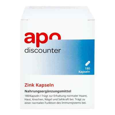 Zink Kapseln 15 mg von apo-discounter  bei apo-discounter.de bestellen