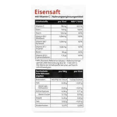 Eisensaft mit Vitamin C von apo-discounter  bei apo-discounter.de bestellen