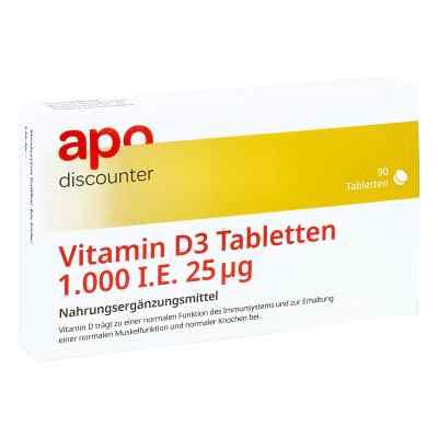 Vitamin D3 Tabletten 1000 I.e. 25 [my]g von apo-discounter  bei apo-discounter.de bestellen
