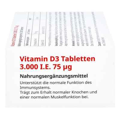 Vitamin D3 Tabletten 3000 I.e. 75 [my]g  bei apo-discounter.de bestellen