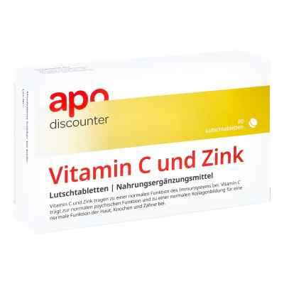 Vitamin C Und Zink Lutschtabletten von apo-discounter  bei apo-discounter.de bestellen