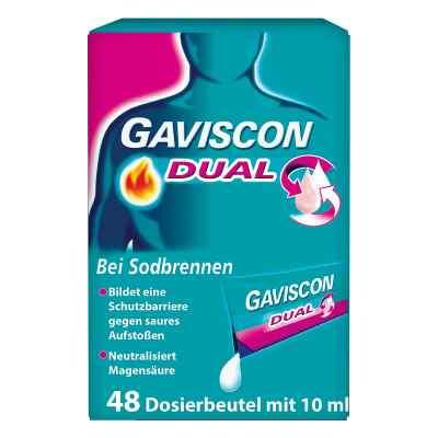 Gaviscon Dual 500mg/213mg/325mg Suspens.im Beutel  bei apo-discounter.de bestellen