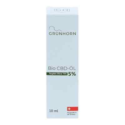 Grünhorn Bio Cbd-öl 5%  bei apo-discounter.de bestellen