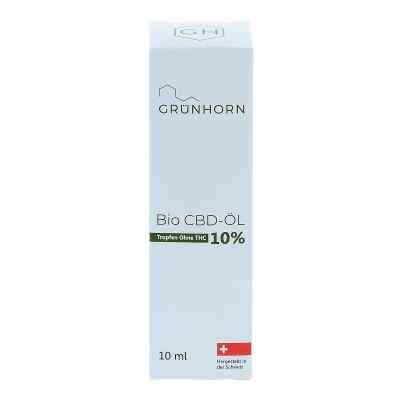 Grünhorn Bio Cbd-öl 10%  bei apo-discounter.de bestellen