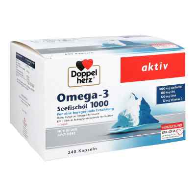 Doppelherz Omega-3 Seefischöl 1000 Kapseln  bei apo-discounter.de bestellen