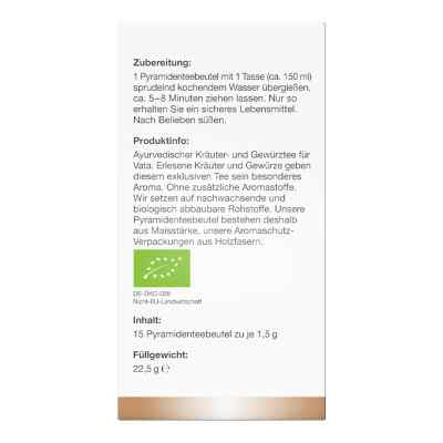 Bio Ayurvedischer Vata-Tee Filterbeutel von apo-discounter  bei apo-discounter.de bestellen
