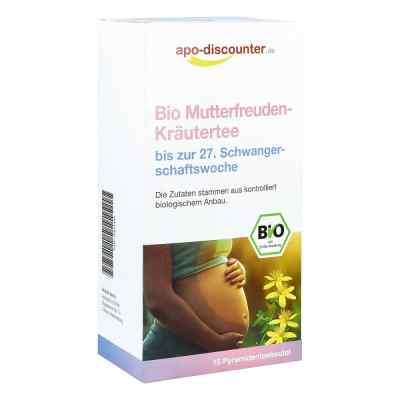 Bio Mutterfreuden-Kräutertee ohne Himbeerblätt.Fbtl. von apo-dis  bei apo-discounter.de bestellen
