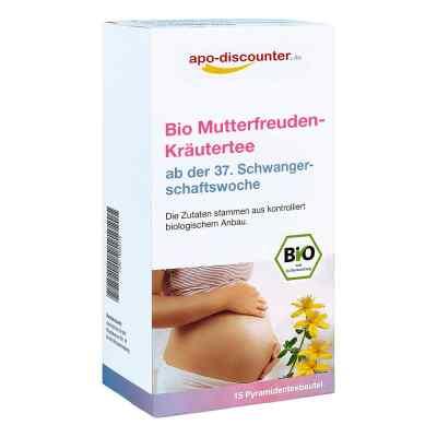 Bio Mutterfreuden-Kräutertee mit Himbeerblätt.Fbtl. von apo-disc  bei apo-discounter.de bestellen