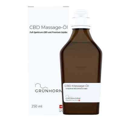 Grünhorn Cbd Massage-öl  bei apo-discounter.de bestellen