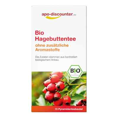 Bio Hagebutten Tee Filterbeutel von apo-discounter  bei apo-discounter.de bestellen