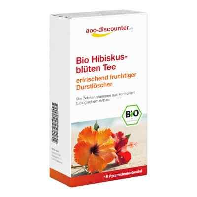 Bio Hibiskusblüten Tee Filterbeutel  bei apo-discounter.de bestellen