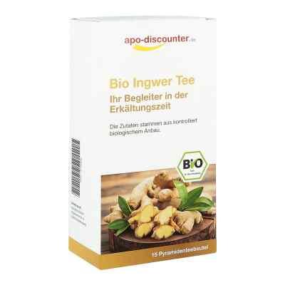 Bio Ingwer Tee Filterbeutel von apo-discounter  bei apo-discounter.de bestellen