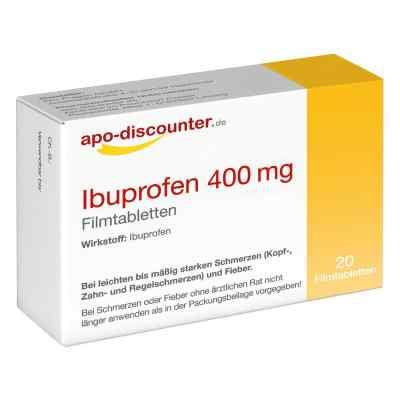 Ibuprofen 400 mg Filmtabletten von apo-discounter  bei apo-discounter.de bestellen