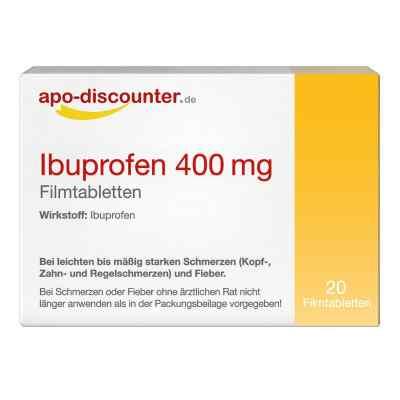 Ibuprofen 400 mg FTA Schmerztabletten von apo-discounter  bei apo-discounter.de bestellen