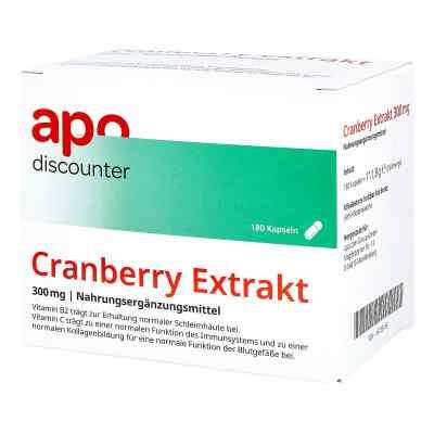 Cranberry Extrakt 300 mg Kapseln von apo-discounter  bei apo-discounter.de bestellen
