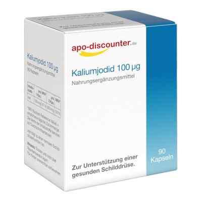 Kaliumjodid 100 [my]g Kapseln von apo-discounter  bei apo-discounter.de bestellen