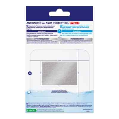 Hansaplast Antibacterial Aqua Protect XXL 8x10  bei apo-discounter.de bestellen