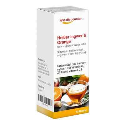 Heisser Ingwer+orange Pulver  bei apo-discounter.de bestellen