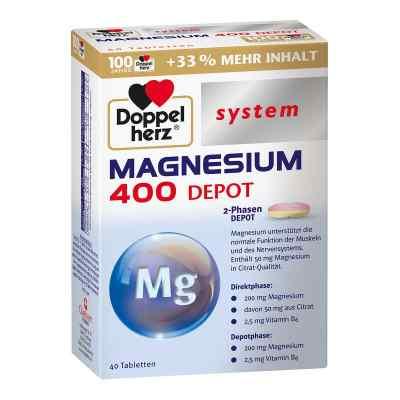 Doppelherz Magnesium 400 Depot System Tabletten  bei apo-discounter.de bestellen