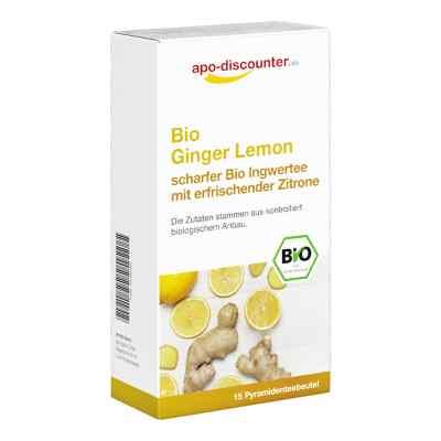 Bio Ginger Lemon Tee Filterbeutel von apo-discounter  bei apo-discounter.de bestellen