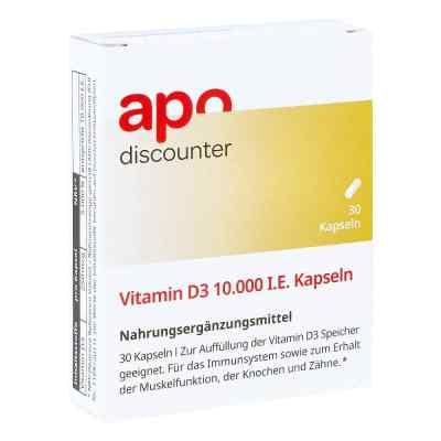 Vitamin D3 10.000 I.e. Kapseln  bei apo-discounter.de bestellen
