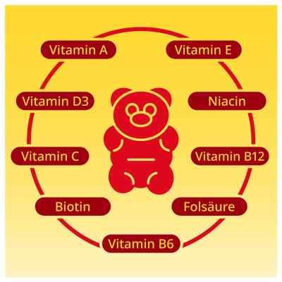 Gummibären Multivitamin vegan und zuckerfrei von apo-discounter  bei apo-discounter.de bestellen
