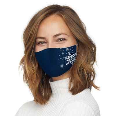 Bepolite Maske antibakteriell waschbar snowflakes  bei apo-discounter.de bestellen