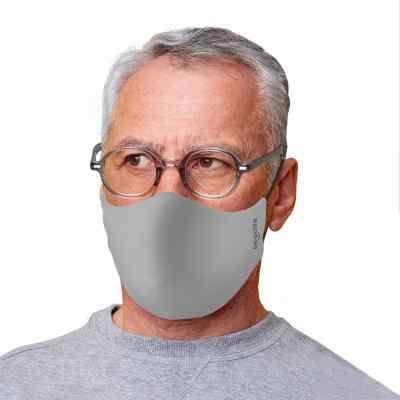 Bepolite Maske antibakteriell Brille hellgrau  bei apo-discounter.de bestellen