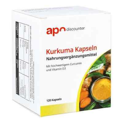 Kurkuma Kapseln mit Curcumin von apo-discounter  bei apo-discounter.de bestellen