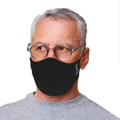 Bepolite Maske antibakteriell Xl schwarz  bei apo-discounter.de bestellen