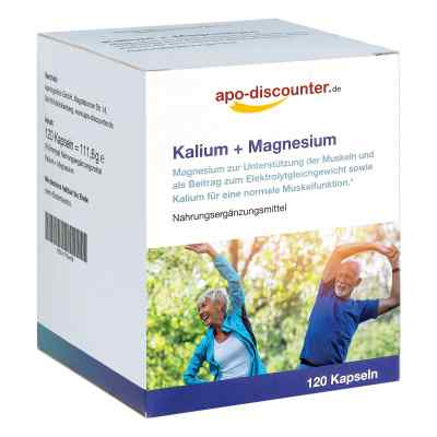 Kalium + Magnesium Kapseln von apo-discounter  bei apo-discounter.de bestellen