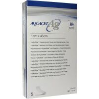 Aquacel Ag 1x45 cm Tamponade mit Verstärkungsfa...