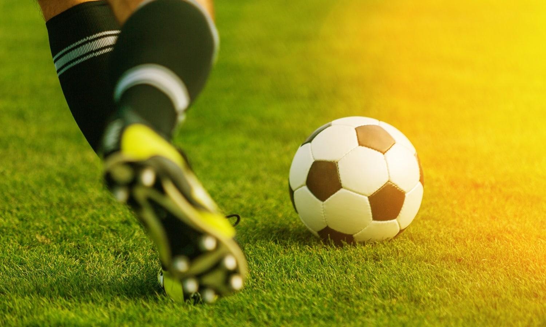 Auch beim Fußball können Verletzungen auftreten